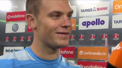 Manuel Neuer – VfL v FCB – post-match interview 3