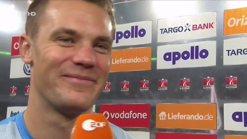 Manuel Neuer – VfL v FCB – post-match interview 5
