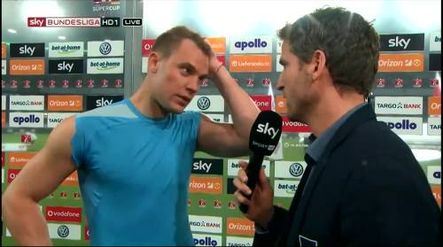 Manuel Neuer – VfL v FCB – post-match interview 6