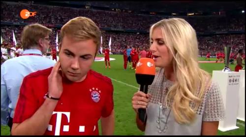 Mario Götze – post-match interview 1
