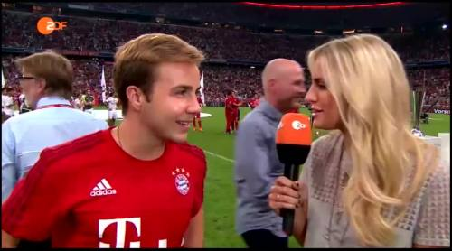 Mario Götze – post-match interview 2