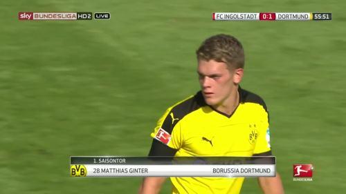 Matthias Ginter – Ingolstadt v BVB 1