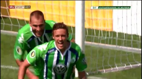 Max Kruse - Stuttgarter Kickers v VfL Wolfsburg 1