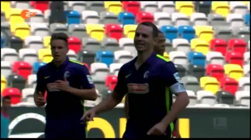 Nicholas Höfler - Fortuna Düsseldorf v SC Freiburg 1