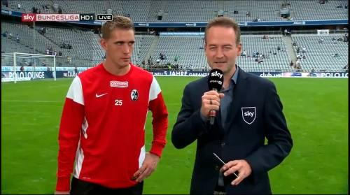 Nils Petersen - 1860 v SCF - post-match interview 1