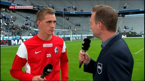 Nils Petersen - 1860 v SCF - post-match interview 2