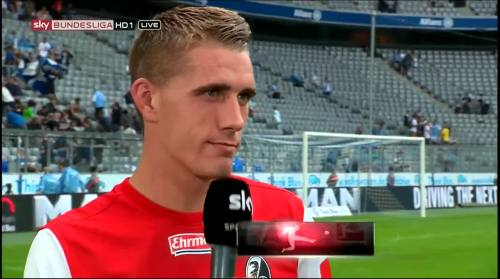 Nils Petersen - 1860 v SCF - post-match interview 3
