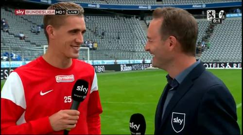 Nils Petersen - 1860 v SCF - post-match interview 5