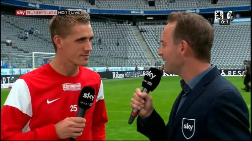 Nils Petersen - 1860 v SCF - post-match interview 6