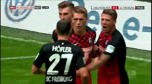Nils Petersen goal celebrations 4