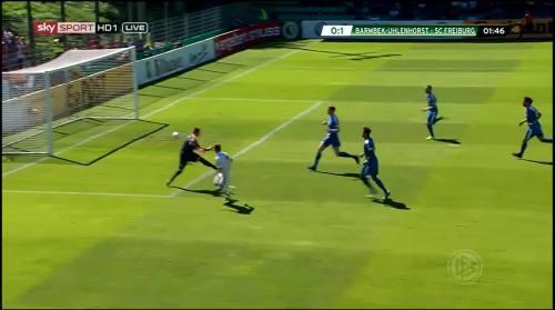 Petersen - 1st goal - Pokal 1st round 1