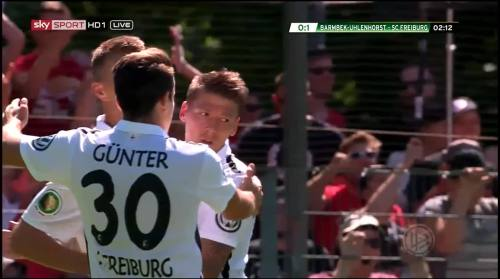 Petersen - 1st goal - Pokal 1st round 4
