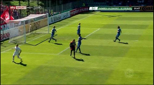 Petersen - 1st goal - Pokal 1st round