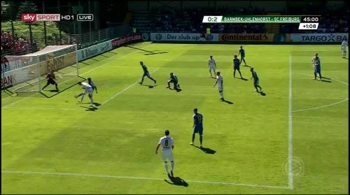 Petersen - 2nd goal - Pokal 1st round 1