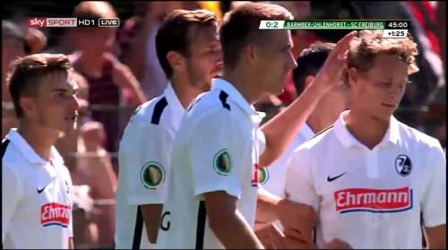 Petersen - 2nd goal - Pokal 1st round 2