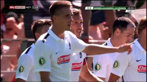 Petersen - 2nd goal - Pokal 1st round 3