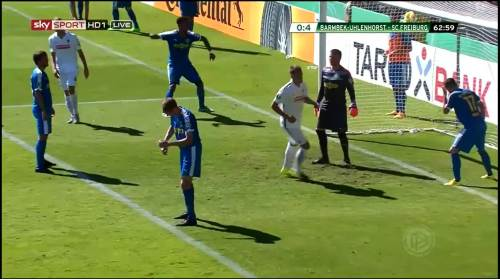 Petersen - 3rd goal - Pokal 1st round 10