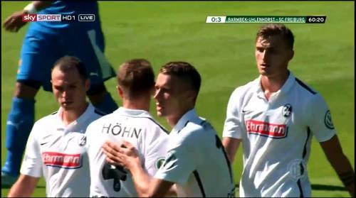 Petersen - 3rd goal - Pokal 1st round 2
