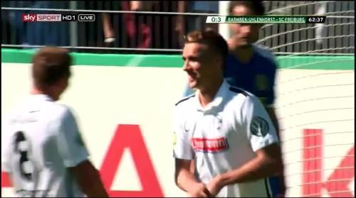 Petersen - 3rd goal - Pokal 1st round 3