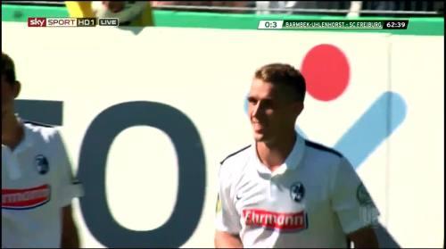 Petersen - 3rd goal - Pokal 1st round 4