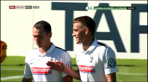 Petersen - 3rd goal - Pokal 1st round 5