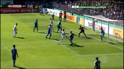 Petersen - 3rd goal - Pokal 1st round 7
