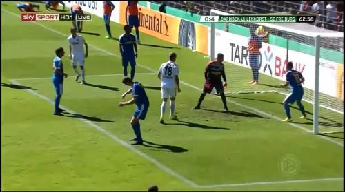 Petersen - 3rd goal - Pokal 1st round 8
