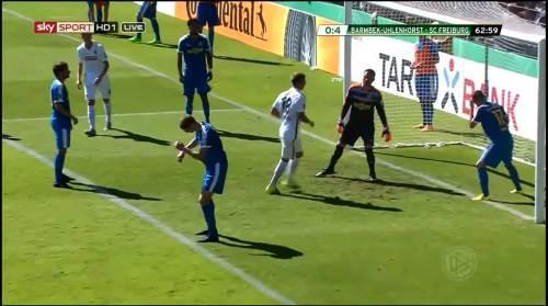 Petersen - 3rd goal - Pokal 1st round 9