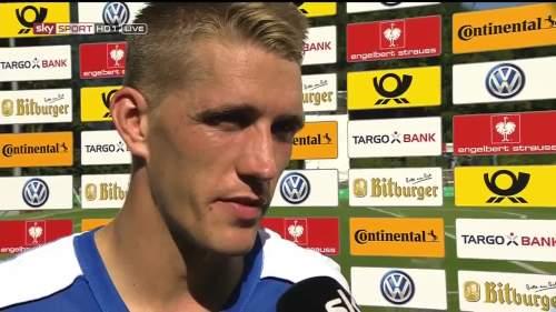 Petersen post - match interview 1