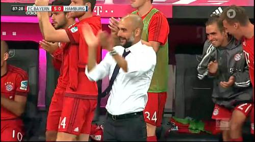 Philipp Lahm – Bayern v HSV 2