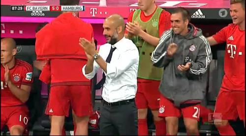 Philipp Lahm – Bayern v HSV 3