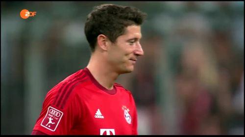 Robert Lewandowski – Bayern v AC Milan 1