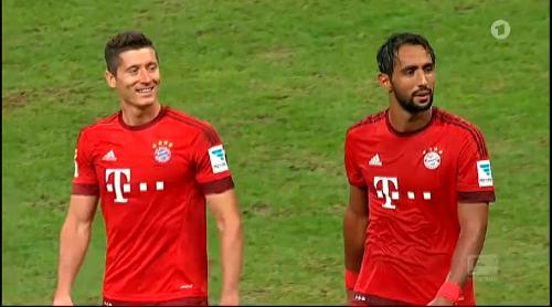 Robert Lewandowski – Bayern v HSV 1