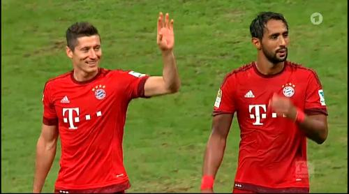 Robert Lewandowski – Bayern v HSV 2