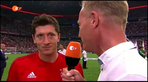 Robert Lewandowski – post-match interview 1