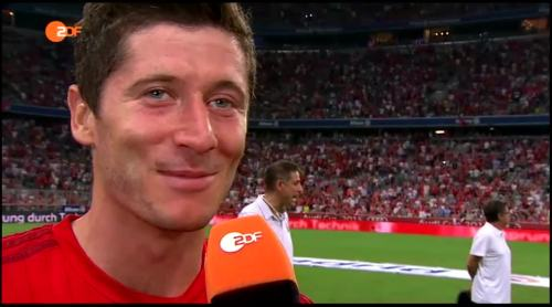 Robert Lewandowski – post-match interview 2