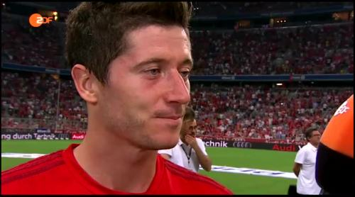 Robert Lewandowski – post-match interview 3