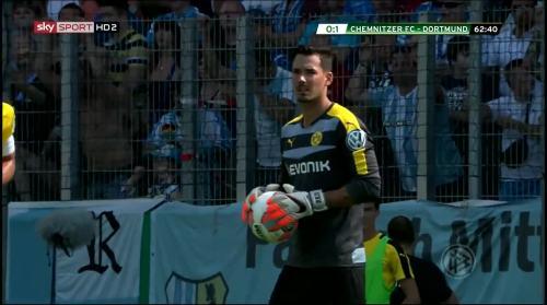 Roman Bürki - Chemnitzer FC v BVB 10