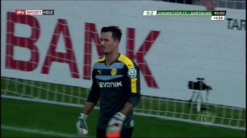 Roman Bürki - Chemnitzer FC v BVB 12