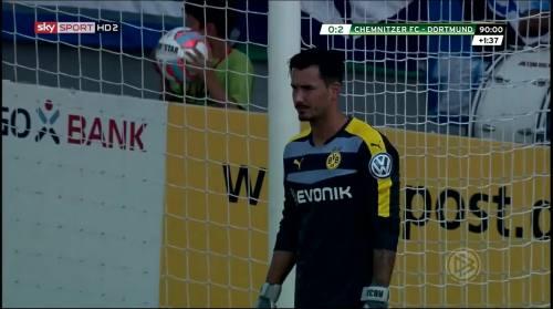 Roman Bürki - Chemnitzer FC v BVB 13