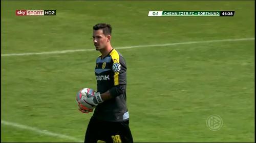 Roman Bürki - Chemnitzer FC v BVB 8