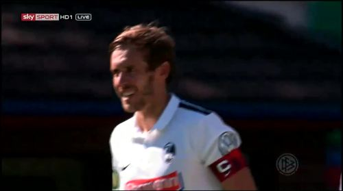 Schuster - 5th goal - Pokal 1st round 1