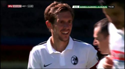 Schuster - 5th goal - Pokal 1st round 2