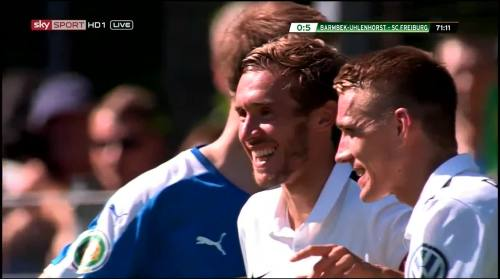 Schuster - 5th goal - Pokal 1st round 3