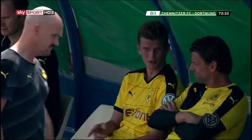 Sven Bender & Roman Weidenfeller - Chemnitzer FC v BVB 1