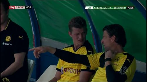 Sven Bender & Roman Weidenfeller - Chemnitzer FC v BVB 2