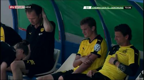 Sven Bender & Roman Weidenfeller - Chemnitzer FC v BVB 3