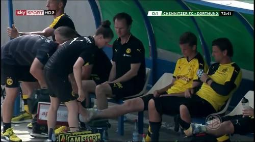 Sven Bender & Roman Weidenfeller - Chemnitzer FC v BVB 4