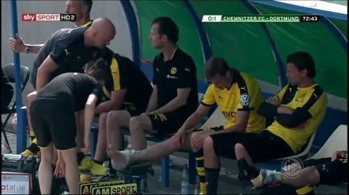 Sven Bender & Roman Weidenfeller - Chemnitzer FC v BVB 5
