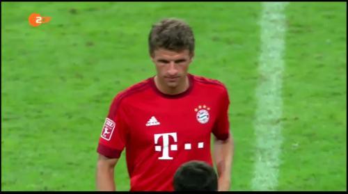 Thomas Müller – Bayern v AC Milan 1